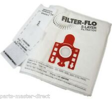 FITS MIELE FJM TYPE HYCLEAN VACUUM CLEANER DUST BAGS 5 PACK & FILTERS