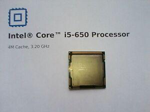 Intel® Core™ i5-650 Processor 4M Cache, 3.20 GHz Socket LGA 1156