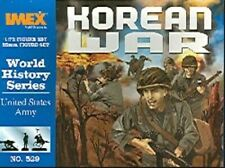 IMEX MODELS 1/72 US ARMY KOREAN WAR FIGURE SET 529