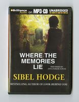 Where the Memories Lie: by Sibel Hodge - MP3CD - Audiobook