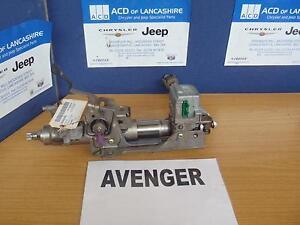 DODGE AVENGER 2009 STEERING COLUMN 6 Speed Manual Diesel #0000022370