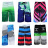 Surf Ocean Men's Beach Sport Swimwear Bathing Suit Trunks Slim Fit Board Shorts