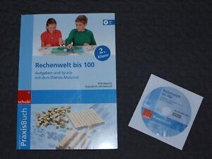 DIENES PRAXISBUCH + CD RECHNEN Klasse 2 Schubi RECHENSCHWÄCHE Montessori NEUw