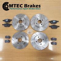Ford Focus mk1 ST170 2.0 Front Rear MTEC Brake Discs & MTEC Pads 02-05