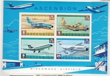 Elizabeth II (1952-Now) Aviation British Sheets Stamps