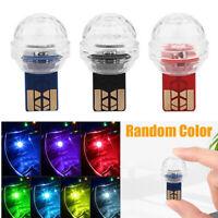 Car USB Interior Atmosphere Neon Light Mini Colorful Music LED Decor Lamp Lights