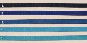 "3/8"" (9 mm) Grosgrain Ribbon Blue Range Craft Scrapbooking Cake decorations"