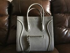 Celine Medium Gray Phantom Luggage