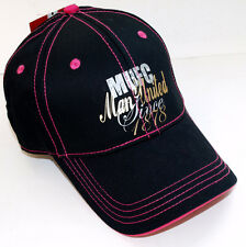 MANCHESTER UNITED OFFICIAL BASEBALL CAP (PINK & BLACK)