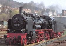 AK, Meiningen, Dampflok 38 2267 im RAW Meiningen, April 1992