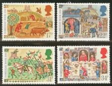 Gb Mnh Scott 1145-1148, 1986 Domesday Book, 900th Anniv. set of 4