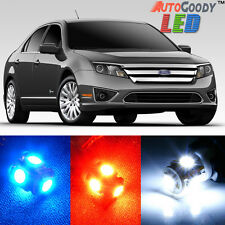 13 x Premium Xenon White LED Lights Interior Package Upgrade for Ford Fusion