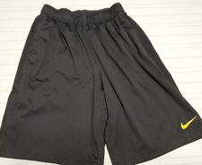 Nike Mens Dri-Fit Live Strong Training Basketball Shorts Size Small S Black