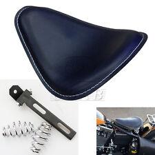 """Set Motorcycle 3"""" Chrome Spring SOLO Seat Bracket for Sportster Chopper Bobber"""