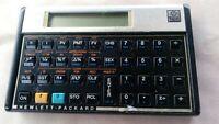 Vintage 1980s HP Hewlett Packard 12C Programmable Financial Calculator