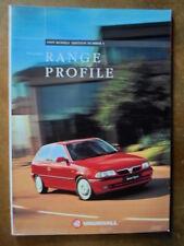 VAUXHALL RANGE 1995 UK Mkt Brochure - Corsa Astra Omega Cavalier Calibra Tigra