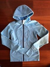 New without tag Lululemon Scuba Stretch Hoodie Blue - Size 8 super soft