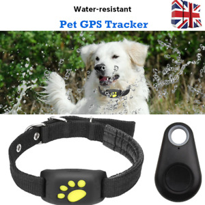 Smartphone Water-Resistant GPS Dog Cat Pet Finder Tracker GSM Locator Collar New