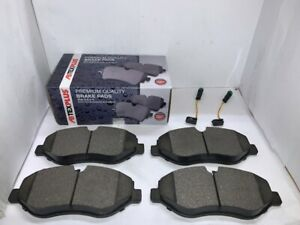 Front Brake Pads + Sensor Wire Fits Mercedes Vito + Viano 2003-2020