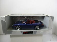 1/18 UT MODELS PURPLE PORSCHE 911 CABRIO
