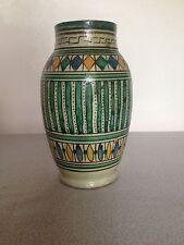 Antique Islamic North African Moroccan Pottery Medicine Jar