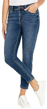 BUFFALO David Bitton Women's Mid-Rise Ankle Skinny Stretch Jeans, Blue 10/30