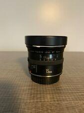 Canon Fisheye Lens EF 15mm f/2.8 Lens