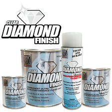 KBS Coatings Diamond Finish ClearCoat - Quart - direct to polished alum & chrome