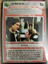 Star Wars CCG Death Star II I'm With You Too NrMint-MINT SWCCG