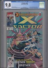 X-Factor #60 CGC 9.8 Marvel Extinction Event First print Marvel Comic: New Frame