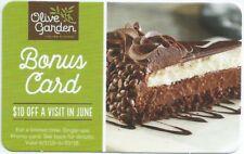Olive Garden $10 Bonus Gift Card (2)