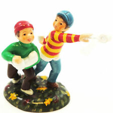 "Dept 56 Snow Village Halloween ""Two Ply Fun"" Nib Free Shipping #4020235"