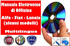 FIAT MAREA, BRAVO, PUNTO, PANDA, CINQUECENTO -MANUALE OFFICINA - WORKSHOP MANUAL