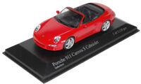 Minichamps 1/43 2005 Porsche 911 Carrera S Cabriolet
