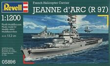 KIT REVELL 1:1200 NAVE DA GUERRA JEANNE D'ARC R97 FRENCH HELICOPTER C.  05896