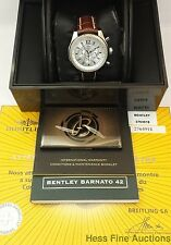 Ultra Cool Breitling Bentley Massive A41390 Chronograph Box Papers Tag Mint
