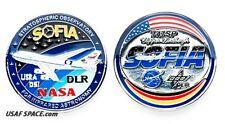 NASA - SOFIA - STRATOSPHERIC OBSERVE INFRARED ASTRONOMY -ORIGINAL COIN-MEDALLION