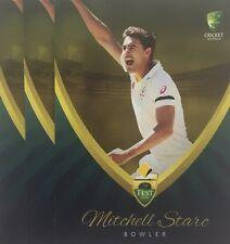2015 Tap n Play ... BASE CARD .. Australia Test Team ... MITCHELL STARC