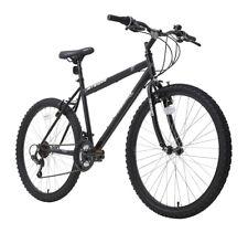 "Terrain MTB1026 26"" Wheel Mens Rigid Mountian Bike 18-Speed 19"" Frame Black"