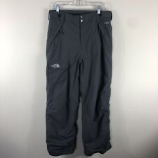The North Face Youth Hyvent Ski Snow Pants Boys Extra Large 18/20 Gray