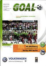 BL 2000/01 VfL Wolfsburg - Hertha BSC, 09.09.2000 - Poster Andrzej Juskowiak