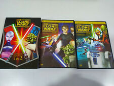 Star Wars The Clone Wars Stagione 1 Volumes 1 & 2 - 2 x DVD Spagnolo English