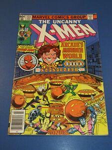Uncanny X-men #123 Bronze age Byrne Spider-man Arcade VG+
