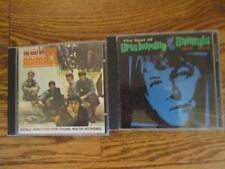 Lot of 2 ERIC BURDEN -- THE ANIMALS  CDs