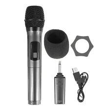K380D Professional Wireless Bluetooth Karaoke UHF Microphone Transmitter System