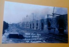 c1910 Mt. Pleasant Pa Standard Shaft Bee Hive Coke Ovens Coal Mine Postcard Repo