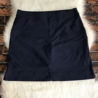 Lucy Walkabout Collection Women's Skort Skirt  SZ Lrg Navy Blue Activewear Golf