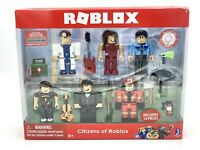 Citizens of Roblox Action Figure 6-Pack Includes 14 Pcs w/ Virtual Code - NEW!!!