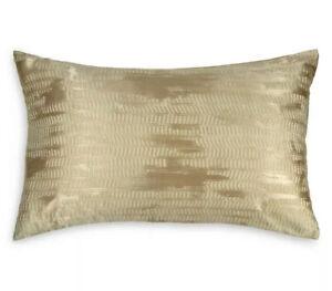 NEW Donna Karan Vapor Collection Standard Queen (1) Sham Gold Dust
