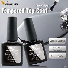 Nail Art Venalisa Tempered No Wipe Top Coat Long Lasting Time Nail Gel Polich